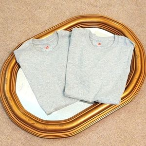 (2 for $4) BNWOT Hanes Tees Size M